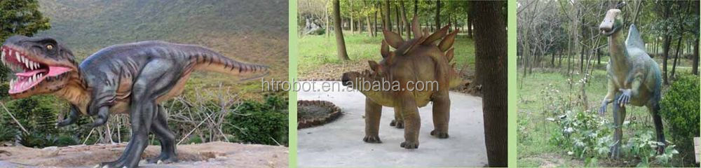 Giant mechanical simulation dinosaur for outdoor playground decoration in hot sale