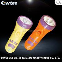 Popular Promotional 400 mah 5LED GT-8105 most powerful led flashlight