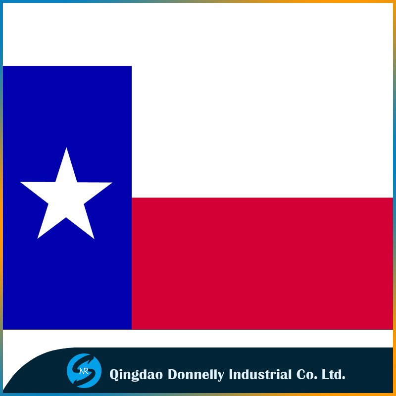 Hot Sale Texas flag 3 x 5ft Flags 100DPolyester custom banners Two Grommets