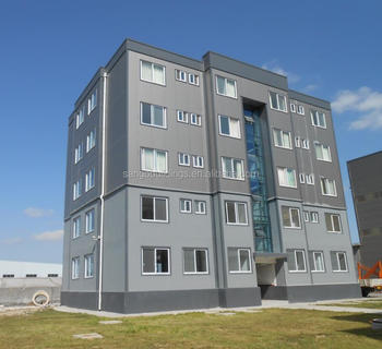 High Quality Low Cost Apartment Style Prefab House