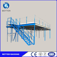 Customized Industrial Mezzanine Floor Rack System
