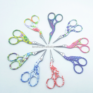 Flower Style Small Bird Scissors Stitching Tools Swan Sewing Embroidery Scissors