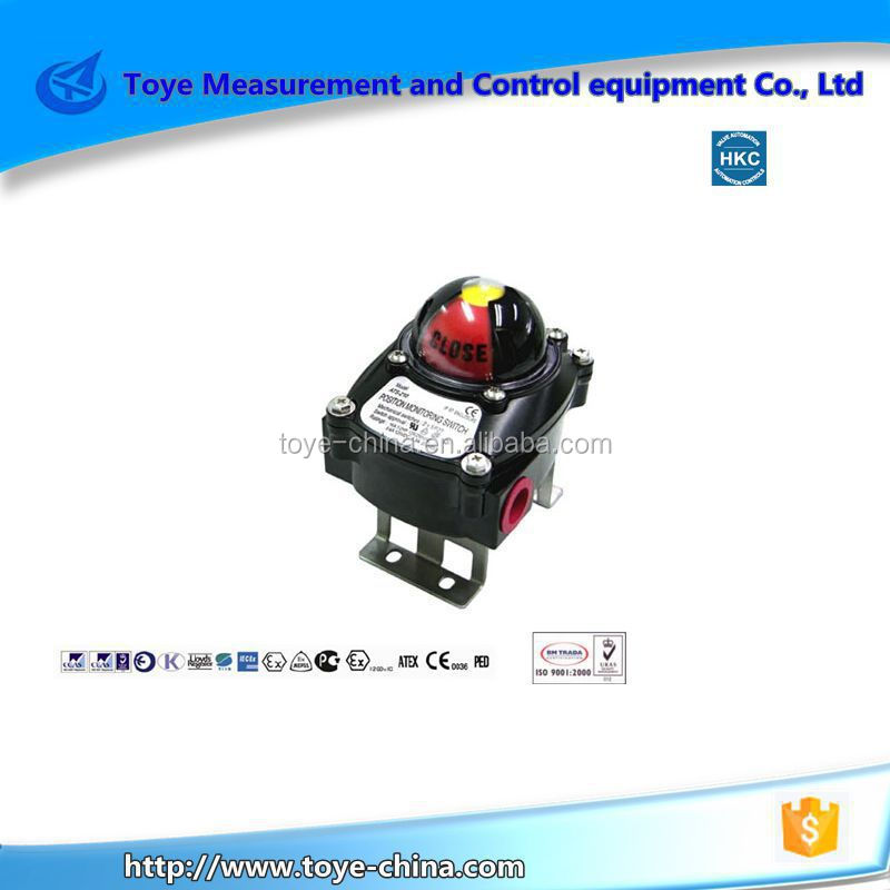 pneumatic valve limit switch manufacturer