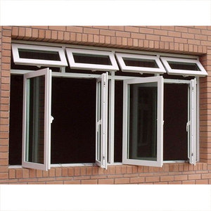 Residential safety double glazed PVC windows australia standard used commercial glass window
