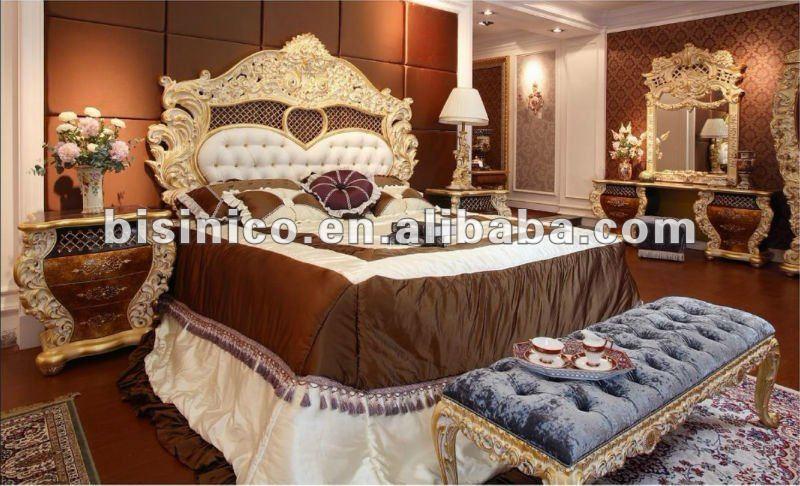 Lujo Europeo Clásico Conjunto De Muebles De Dormitorio,Moq: 1 ...