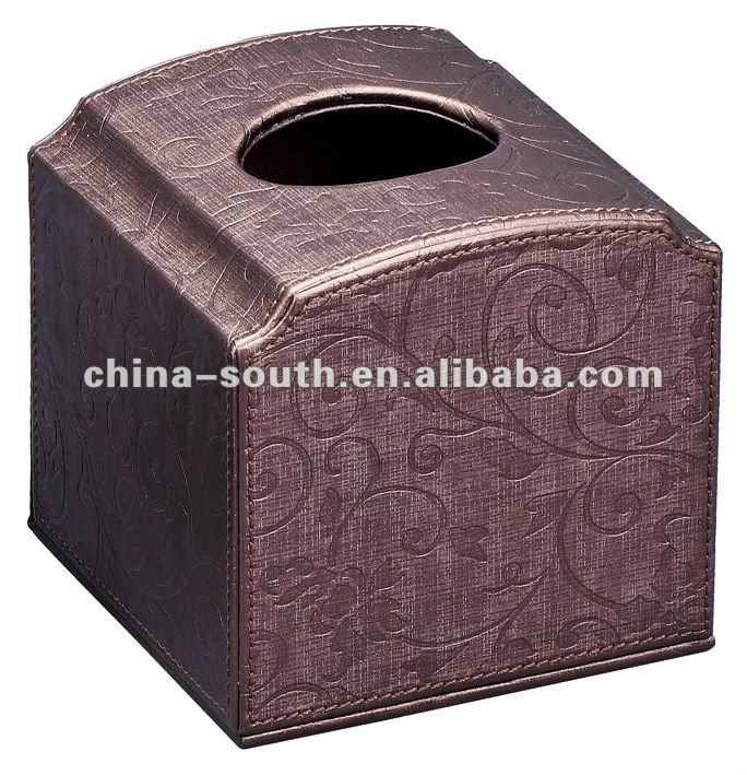 Home/Hotel Leather Tissue Box