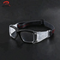 Comfortable anti-fog sport safety basketball goggles glasses