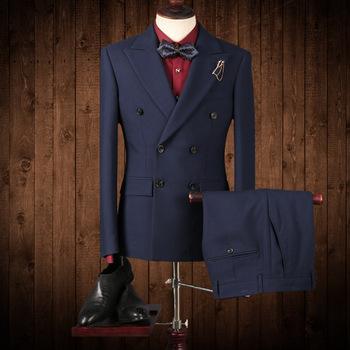 f284d643c26a 2017 индивидуальный заказ Новый стиль хорошее качество новейший дизайн  пальто брюки мужской костюм в Китае