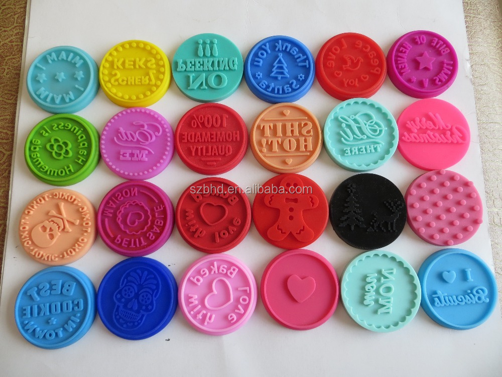 Custom Cookies Stamps Fda Free Silicone Molds Bpa Free