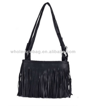 7fc2a4015605 Fashion Long Chain Bag Cheap Tassel Sling Bag Wholesale Long Strap Small Bag  For Girls Women
