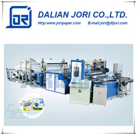 PLC Fully Automatic Paper Production Line Toilet Paper Tissue Making Equipment