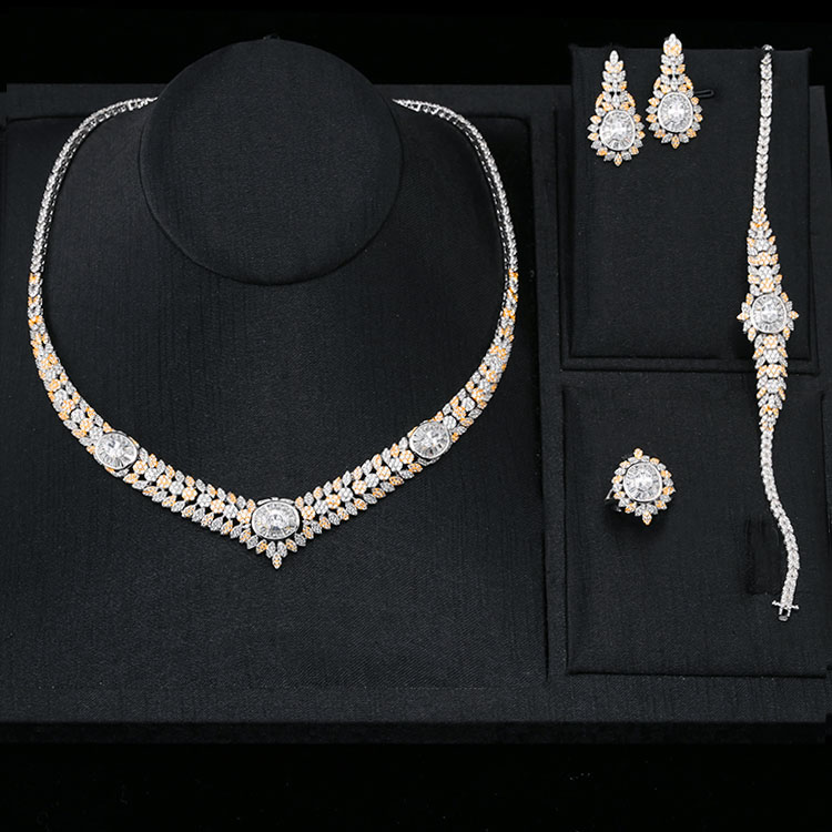 China Wholesale fashion 925 silver jewelry ladies set