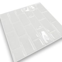 Reine Whtie 3D Abziehbare Wandfliese Backsplash, Adhesive Wandfliese, U Bahn  Fliesen
