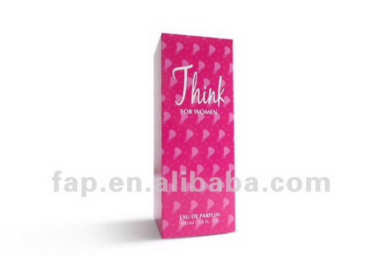 Eco-friendly newly design update cosmetic paper packaging box