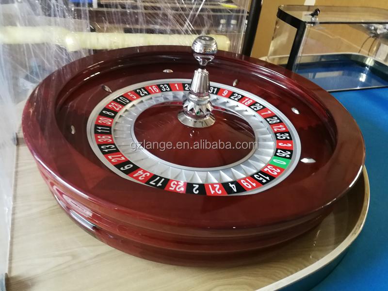 Fake roulette wheel spinner