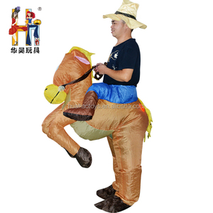 Hot Sale Novelty Oktoberfest Beer Festival inflatable Mascot Horse ride on halloween costumes