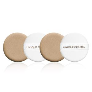 Unique Colors 4pcs Air Cushion Puff Sets for Dry and wet foundation makeup puff