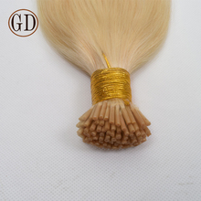100% Brazilian Human Hair Extensions Blonde Color Prebonded Itip/Utip/Vtip Virgin Brazilian Hair 8A