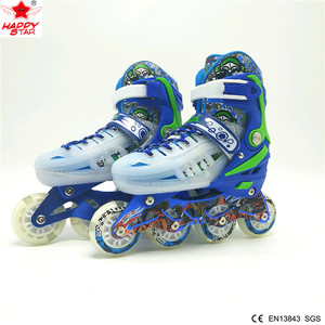 china shoe factory inline skate pu wheels kids electric quad professional custom inline roller skates