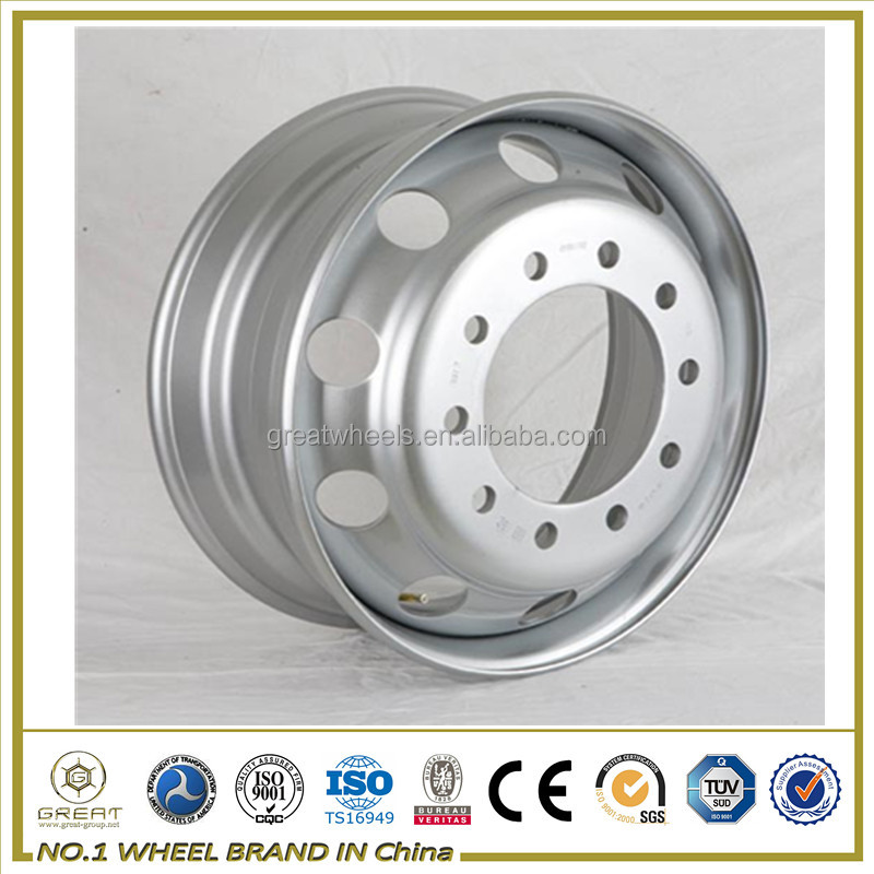 Made In China Of Steel Wheel Rim With Custom Semi Truck Wheels ...