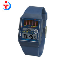 Solar Power Digital Watch Jinrong 101 Mens Watch Black <span class=keywords><strong>Sky</strong></span> <span class=keywords><strong>Blue</strong></span> color 와 Competitive Price