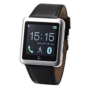Efanr® 2015 Water Resistant Bluetooth Smart Watch Touch Screen Bracelet Exercise Smartwatch Running Wristbands Sports Watches Luxury Fitness Health Tracking System Wrist Watch Women Men Cell Phone Mate Partner Pedometer Step Walking Distance Calorie Counter Activity Tracker Sleep Monitoring