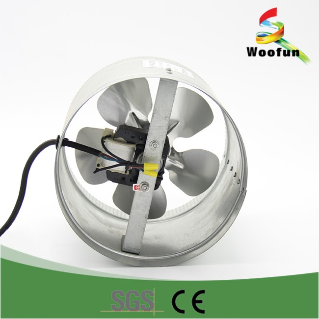 Stainless Steel Inline Fan Motors : Air conditioning ventilation duct fan stainless steel
