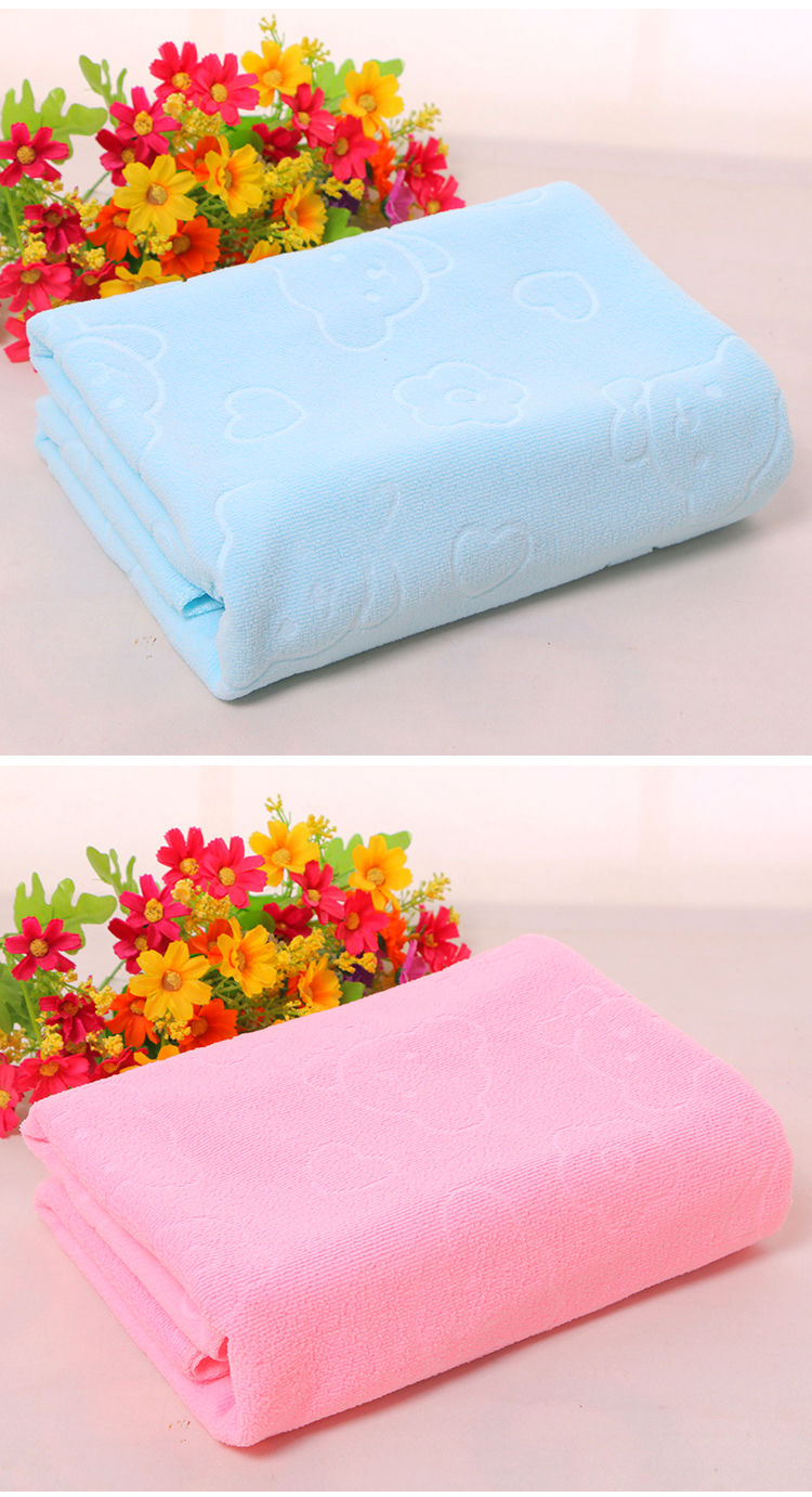 Promotional wholesale good quality custom microfiber bath towels or beach towel