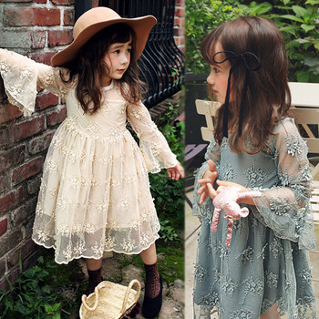 a0a35090c1 New Premium Children White Birthday Dresses For Kids Girls 3 Years ...