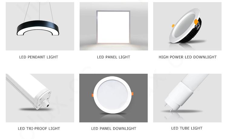 LED panel light 1200x200mm fast delivery led hanging light
