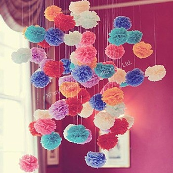 Colorful hanging tissue paper flowers 2015 buy hanging tissue colorful hanging tissue paper flowers 2015 mightylinksfo