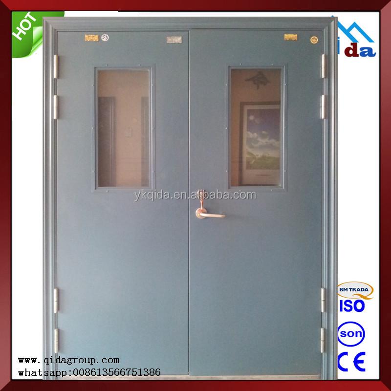 Appartamento 2 ore tagliafuoco porta di vetro porta id for 1 5 hr fire rated door