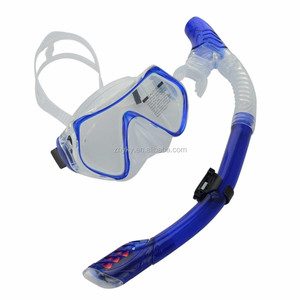 Hot selling Diving Mask and Snorkel Set Colorful Swimming Goggles for adults and kids
