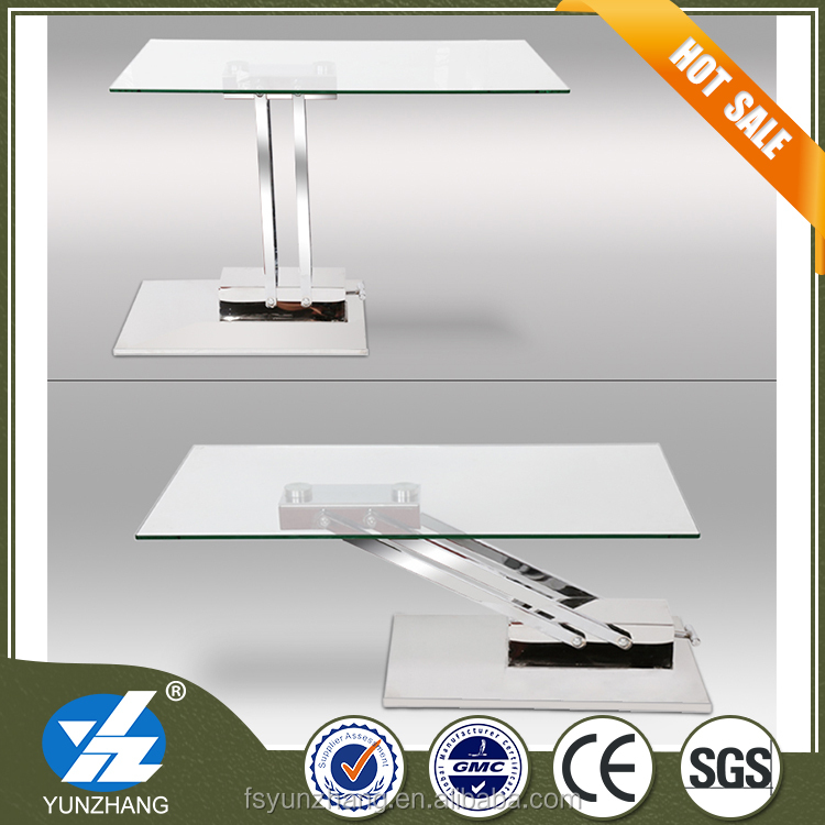Adjustable height coffee table foshan side table used for living room