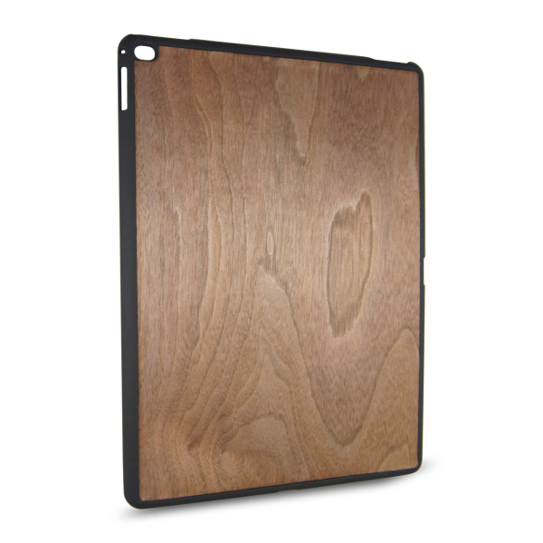 Natural Real PC+Wood Case Black Walnut Hard Back Cover Mobile Case For <strong>iPad</strong> Pro