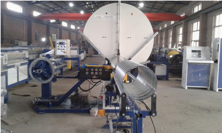 Low price Air duct ventilation Round pipe spiral duct forming machine factory