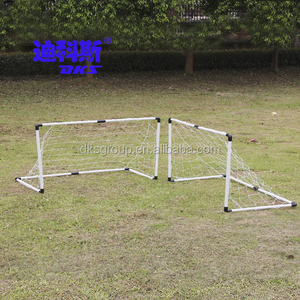 Portable PVC football goal/durable double soccer goals