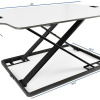 OEM/ODM available Super thin Height Adjustable Computer Desk light sit stand desk for office