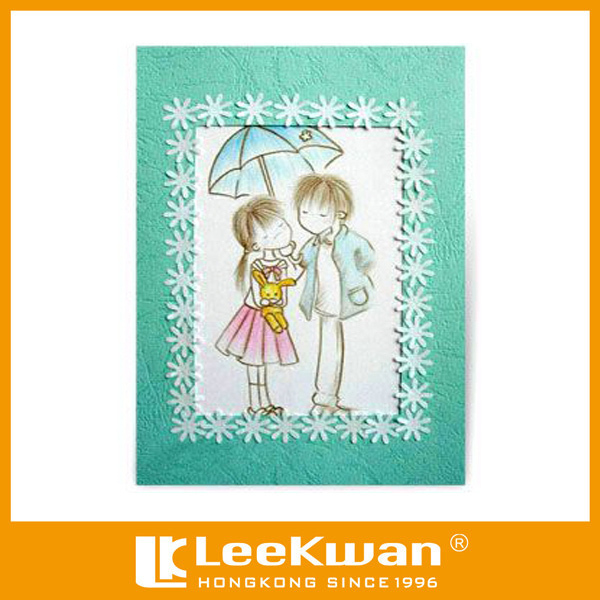 Buy cheap china post greeting card products find china post wedding wishes applique fabric embroidery greeting cards for post or investing m4hsunfo