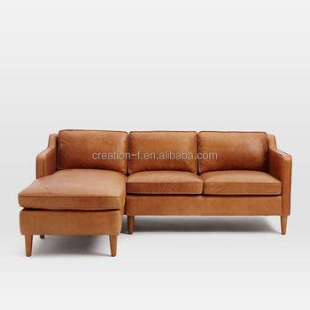 New Model Sectional Leather Corner Sofa/ L Shape Sofa Make In ...