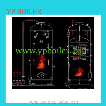 Water Feeder And Vertical Lpg Steam Boiler Steam Generator ...