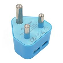 World Travel Universal Adapter Converter With Micro USB Charger South Africa Indian Wall Plug,with IEC report