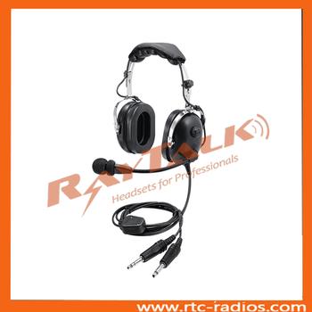 d76bed48770 Pilot headset passive noise cancelling headphones similar to David Clark  aviation headset
