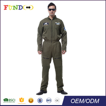 Airman Fancy Dress Halloween carnaval party <span class=keywords><strong>uniform</strong></span> kostuum
