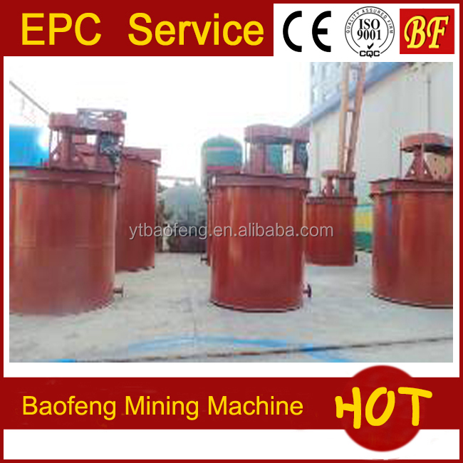 As-mined ore mining machine processing machine agitation tank used in many countries