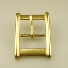 Custom Engrave Logo Buckle Solid Brass Buckle