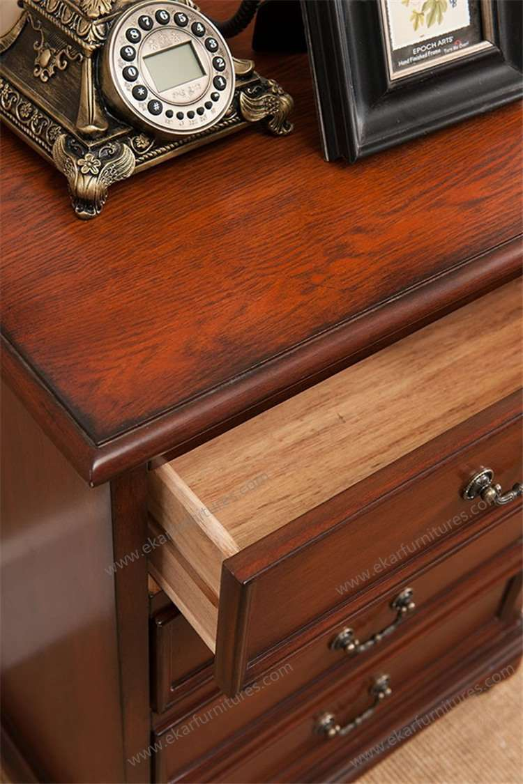 Living Room Chests Cabinets Decorative Full Extension Empty Arcade Oak Wood Living Room 4
