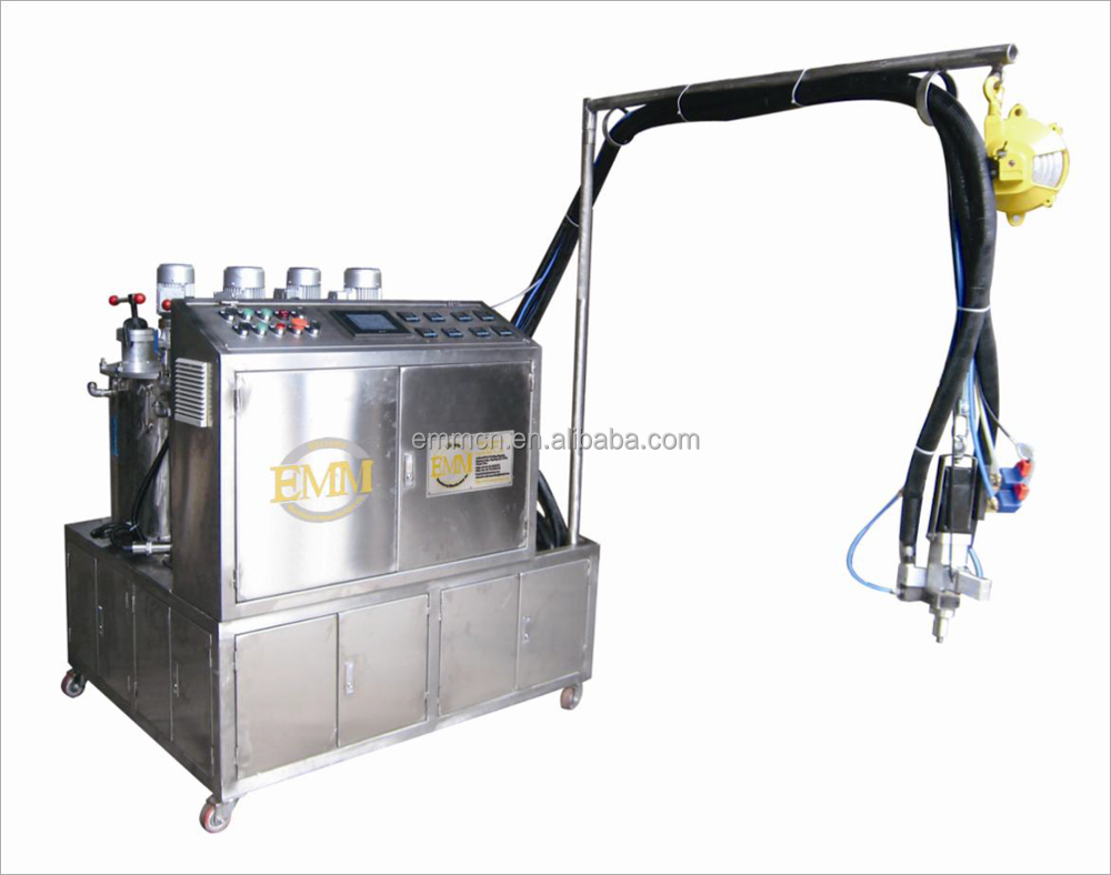 EMM080-C sponge pu foam injection make filling machine