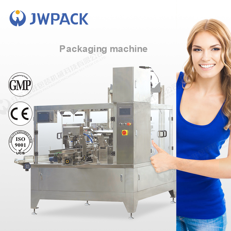 JWPACK GD8-300 pure water filling and sealing machine dry powder filling machine small bag filling machine
