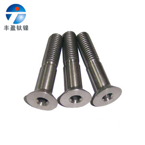 Titanium bolts for industry